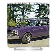 Dodge Gts- Trees Shower Curtain