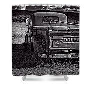Dodge In The Zone Shower Curtain