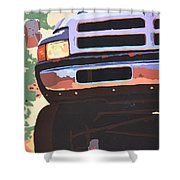Dodge Ram  Shower Curtain
