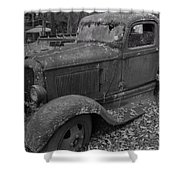 Dodge Tough Shower Curtain