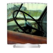 Dodge Truck Shower Curtain
