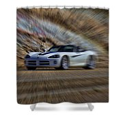Dodge Viper V3 Shower Curtain