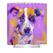 Dog Charlie Shower Curtain