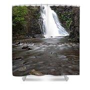 Dog Creek Falls Shower Curtain