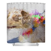 Dog Daze 5 Shower Curtain