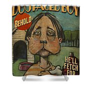 Dog Faced Boy Poster Shower Curtain