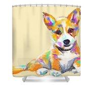 Dog Jerry Shower Curtain