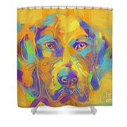 Dog Noor Shower Curtain