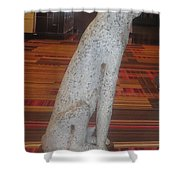 Dog Pet Man's Best Friend Shower Curtain by Navin Joshi