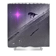 Dog Star Shower Curtain