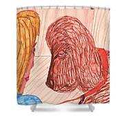 Dog Training Class Shower Curtain