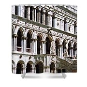 Doge Palace Venice 2 Shower Curtain