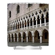 Doge's Palace And Basilica San Marco Shower Curtain