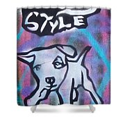Doggy Style 2 Shower Curtain