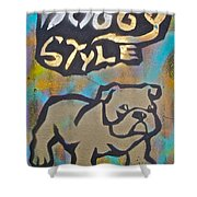 Doggy Style 3 Shower Curtain