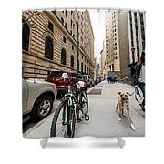 Dogs 1 Shower Curtain