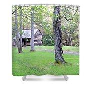 Dogwood Cabin Shower Curtain