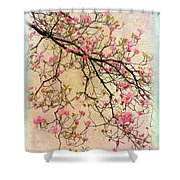 Dogwood Canvas 3 Shower Curtain