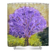 Dogwood In Bloom Shower Curtain