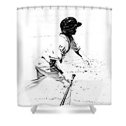 Doing It Shower Curtain by Karol Livote