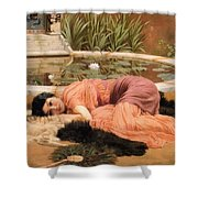 Dolce Far Niente Or Sweet Nothings 1904 Shower Curtain