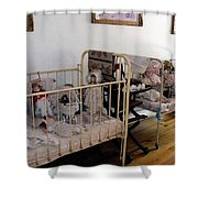 Doll Cribs Shower Curtain