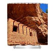 Doll House Anasazi Ruin Shower Curtain