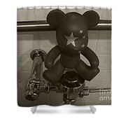 Doll No. 2 Shower Curtain