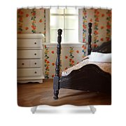 Dollhouse Bedroom Shower Curtain