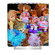Dolls For Sale 1 Shower Curtain