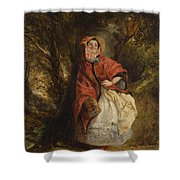 Dolly Vardon Shower Curtain