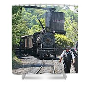 Dollywood 2-8-2 Number 70 Shower Curtain