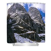 Dolomite Twin Peaks Shower Curtain