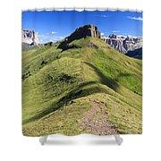 Dolomites - Crepa Neigra Shower Curtain