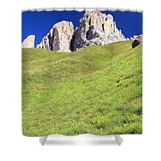 Dolomites - Grohmann Peak Shower Curtain