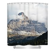 Dolomites Of Italy Shower Curtain