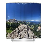 Dolomiti - Alta Val Gardena Shower Curtain
