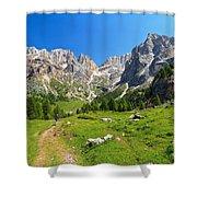 Dolomiti - Contrin Valley Shower Curtain