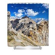 Dolomiti - Costabella Mount Shower Curtain