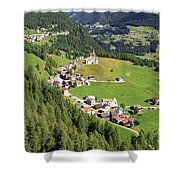 Dolomiti - Laste Village Shower Curtain