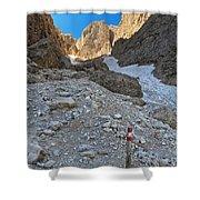 Dolomiti - Val Setus Shower Curtain