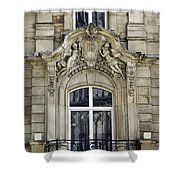 Dom Hotel Balcony Window Cologne Germany Shower Curtain