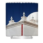 Dome At The Mission Shower Curtain