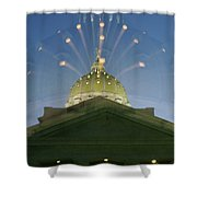 Dome Expanding Shower Curtain