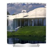 Dome Home Shower Curtain