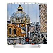 Dome Shower Curtain