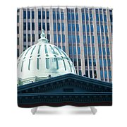 Dome Of Art Museum  Shower Curtain