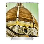 Dome Of Florence Shower Curtain
