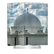 Dome Of San Xavier - Tucson Az Shower Curtain