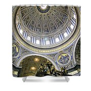 Dome Of St. Peter's Basilica Shower Curtain